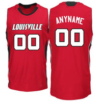 Louisville Cardinals Style Customizable College Jersey