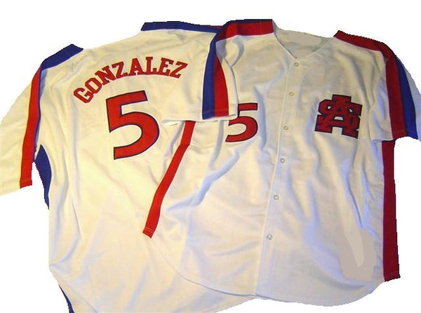 Luis Gonzalez South Alabama University Throwback Jersey
