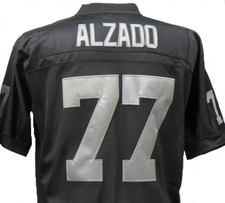 Lyle Alzado Oakland Raiders Throwback Football Jersey