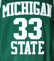 Magic Johnson Michigan State Jersey