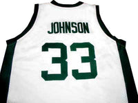 Magic Johnson Michigan State Spartans College Jersey
