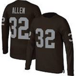 Marcus Allen Oakland Raiders Long Sleeve Football Jersey