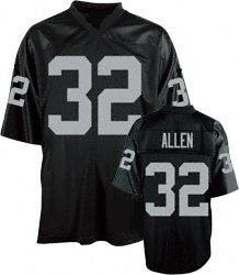 Marcus Allen Oakland Raiders Throwback Football Jersey