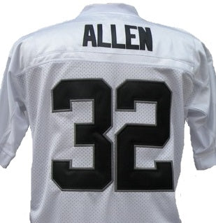 detailed look 1e44d 105b8 Marcus Allen Oakland Raiders Throwback Football Jersey