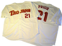 Mark Prior USC Trojans College Baseball Jersey