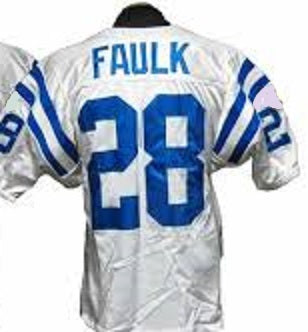 Marshall Faulk Indianapolis Colts Throwback Football Jersey