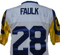 Marshall Faulk Los Angeles Rams Throwback Jersey