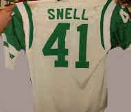 Matt Snell New York Jets Throwback Football Jersey