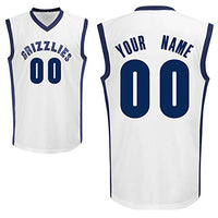 Memphis Grizzlies Customizable Pro Style Basketball Jersey