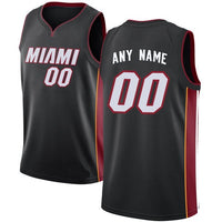 Miami Heat Style Customizable Basketball Jersey