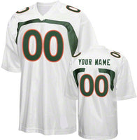 Miami Hurricanes Customizable Jersey