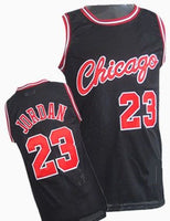Michael Jordan Black Chicago Bulls Basketball Jersey