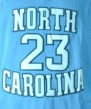 Michael Jordan North Carolina Tarheels Basketball Jersey
