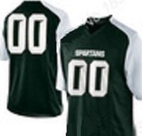 Michigan State Spartans Style Customizable Jersey