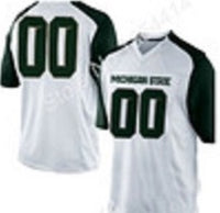 Michigan State Spartans Customizable Football Jersey