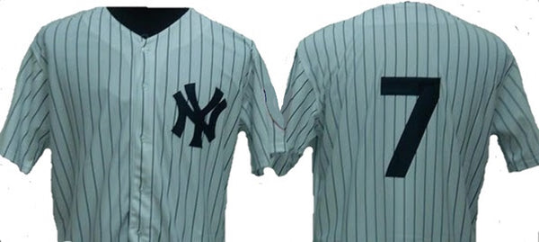 Mickey Mantle 1951 New York Yankees Throwback Jersey