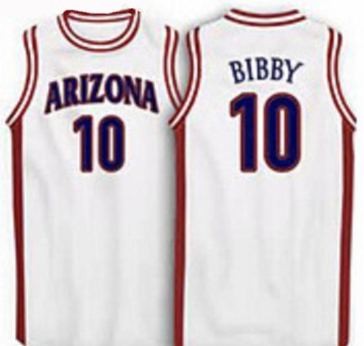 Mike Bibby Arizona Wildcats Throwback Basketball Jersey