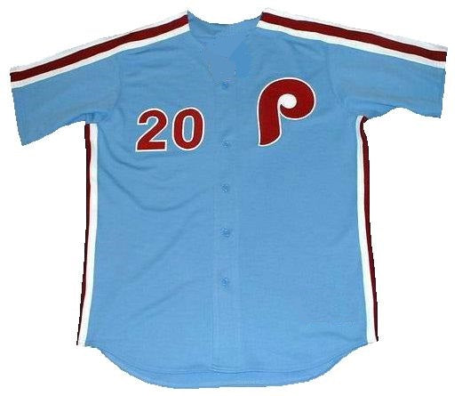 Mike Schmidt Phillies Away Throwback Jersey