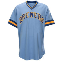 Milwaukee Brewers Customizable Baseball Jersey