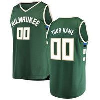 Milwaukee Bucks Style Customizable Jersey