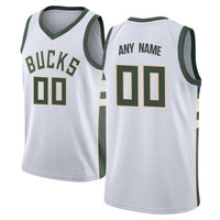 Milwaukee Bucks Customizable Basketball Jersey