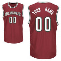 Milwaukee Bucks Style Customizable Basketball Jersey
