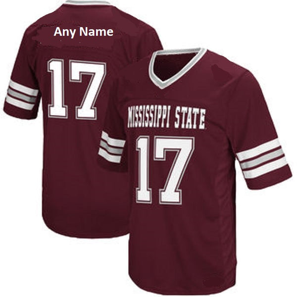 Mississippi State Bulldogs Customizable Football Jersey