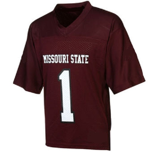 Missouri State Style Customizable Football Jersey