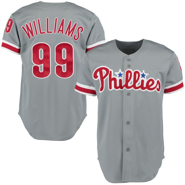 Mitch Williams 1993 Philadelphia Phillies Baseball Jersey
