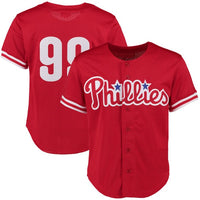Mitch Williams 1993 Philadelphia Phillies Jersey