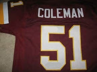 Monte Coleman Washington Redskins Jersey