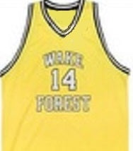 Muggsy Bogues Wake Forest College Basketball Jersey