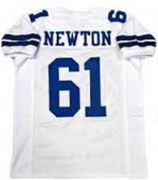 Nate Newton Dallas Cowboys Throwback Jersey