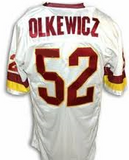 Neal Olkewicz Washington Redskins Throwback Jersey