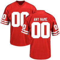 Nebraska Cornhuskers Style Customizable Football Jersey