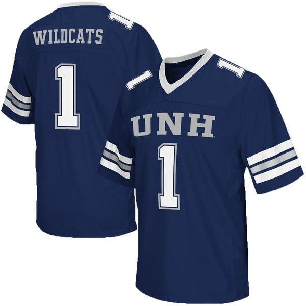 New Hampshire Wildcats Customizable College Football Jersey
