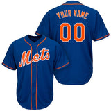 Customizable New York Mets Pro Style Baseball Jersey