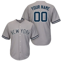 New York Yankees Style Customizable Baseball Jersey