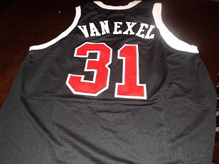buy popular de74b 362c5 Nick Van Exel 1991 University of Cincinnati College Basketball Throwback  Jersey
