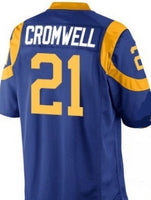 Nolan Cromwell Los Angeles Rams Football Jersey