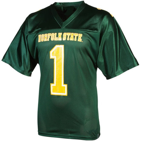 Norfolk State Spartans Customizable College Football Jersey