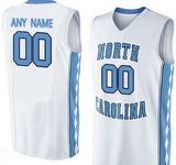 North Carolina Tarheels Customizable College Basketball Jersey