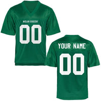 Customizable North Texas Mean Green Style Football Jersey