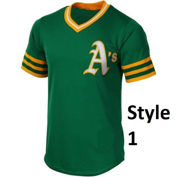 Oakland Athletics Style Customizable Baseball Jersey