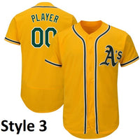 Oakland Athletics Style Customizable Jersey