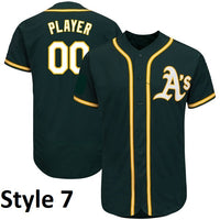 Oakland Athletics Customizable Jersey
