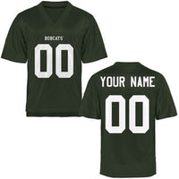 Ohio University Bobcats Customizable Football Jersey