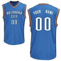 Oklahoma City Thunder Style Customizable Jersey