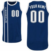 Oklahoma City Thunder Customizable Basketball Jersey