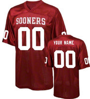 Oklahoma Sooners Customizable College Football Jersey